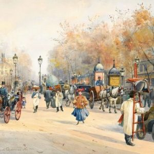 Rompecabezas Ni Hao 1000 Piezas Boulevard Paris