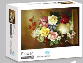 Rompecabezas Ni Hao 1000 Piezas Flores