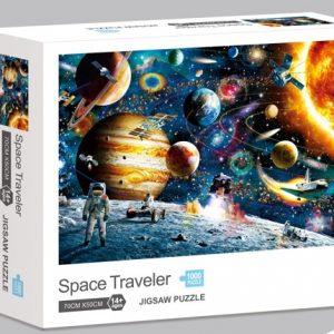 Rompecabezas Ni Hao 1000 Piezas Viaje al espacio