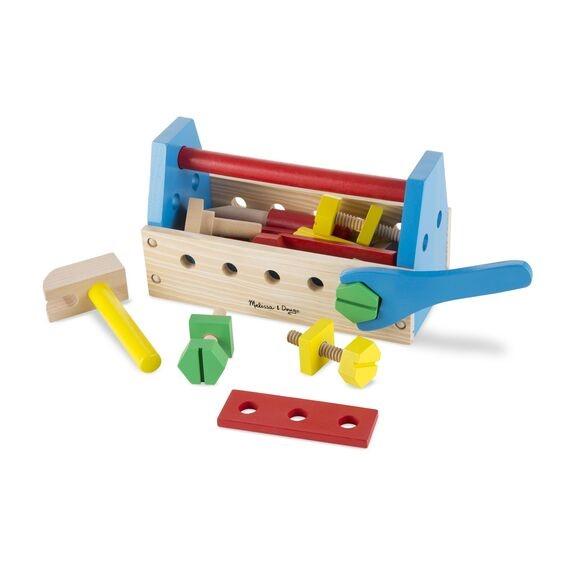 juego de herramientos de madera