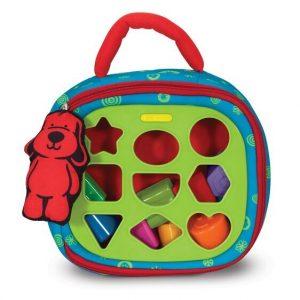 juguete para bebés con formas para llevar