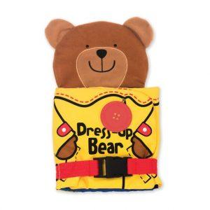 libro suave de actividades vestir al oso