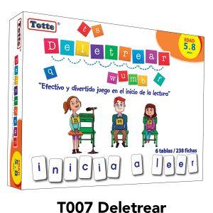 juego educativo didactico totte deletrear